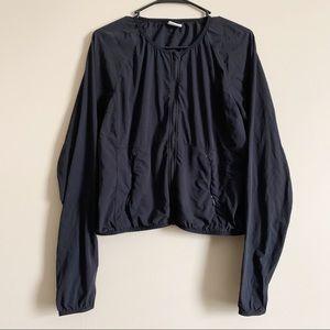 NIKE / Dri Fit back full zip lightweight jacket /L